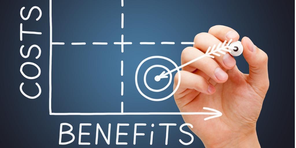 cost-benefits-matrix-graph-concept-picture-id1194918291