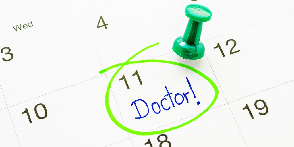 the-words-doctor-written-on-a-calendar-picture-id655788386